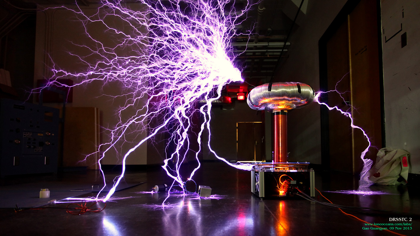 Drsstc 2 A Compact And Powerful Musical Tesla Coil