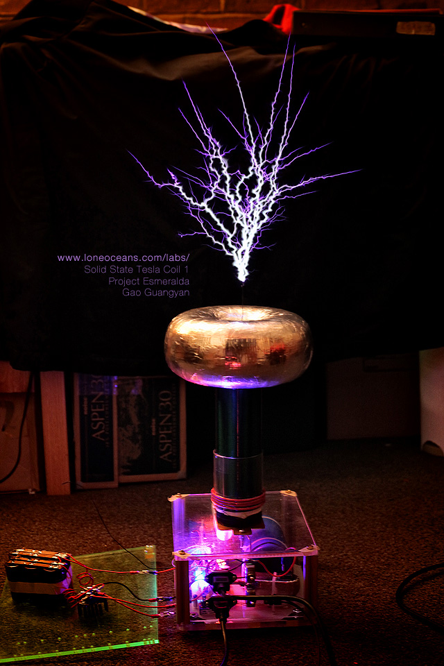 Sstc 1 a musical electronic tesla coil loneoceans for Poisson coil