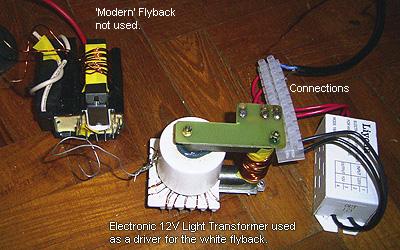 hook up flyback transformer